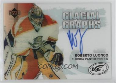 2005-06 Upper Deck Ice - Glacial Graphs - [Autographed] #GG-RL - Roberto Luongo