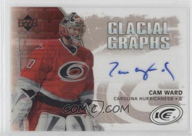 2005-06 Upper Deck Ice Glacial Graphs [Autographed] #GG-CW - Cam Ward