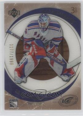 2005-06 Upper Deck Ice #137 - Henrik Lundqvist /1999