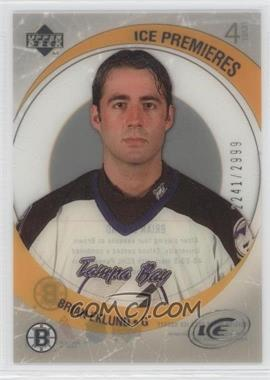 2005-06 Upper Deck Ice #208 - Brian Eklund /2999