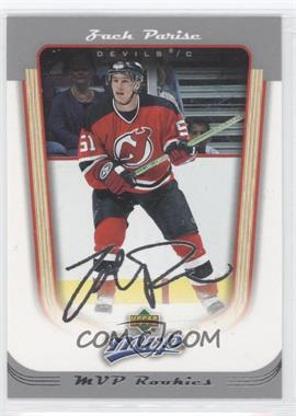 2005-06 Upper Deck MVP #403 - Zach Parise