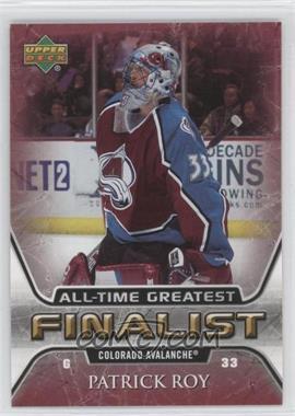 2005-06 Upper Deck NHL Finalist - [Base] #16 - Patrick Roy