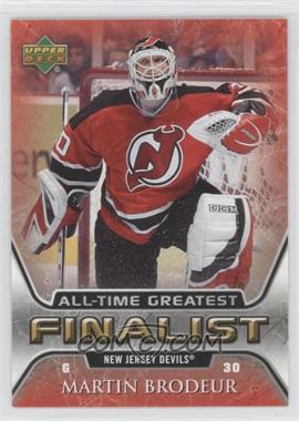 2005-06 Upper Deck NHL Finalist - [Base] #35 - Martin Brodeur