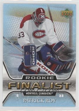 2005-06 Upper Deck NHL Finalist - [Base] #77 - Patrick Roy