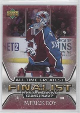 2005-06 Upper Deck NHL Finalist [???] #16 - Patrick Roy