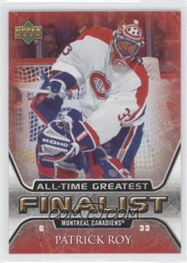 2005-06 Upper Deck NHL Finalist [???] #31 - Patrick Roy