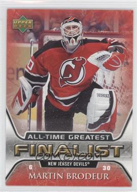 2005-06 Upper Deck NHL Finalist [???] #35 - Martin Brodeur
