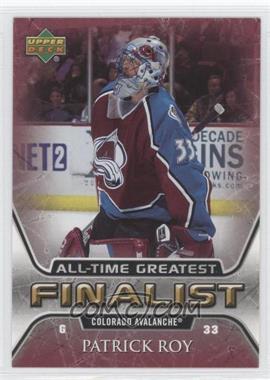 2005-06 Upper Deck NHL Finalist #16 - Patrick Roy