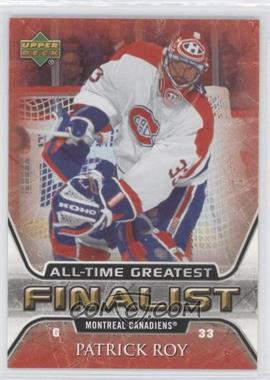 2005-06 Upper Deck NHL Finalist #31 - Patrick Roy