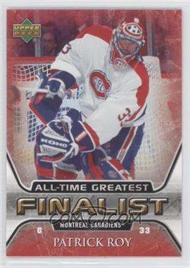 2005-06 Upper Deck NHL Finalist #31 - Patrick Roy