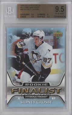 2005-06 Upper Deck NHL Finalist #84 - Sidney Crosby [BGS9.5]