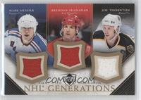 Mark Messier, Joe Thornton, Brendan Shanahan
