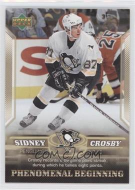2005-06 Upper Deck Phenomenal Beginning #5 - Sidney Crosby