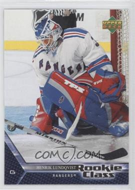 2005-06 Upper Deck Rookie Class #3 - Henrik Lundqvist