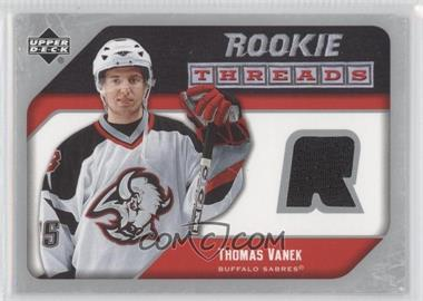 2005-06 Upper Deck Rookie Threads #RT-TV - Thomas Vanek