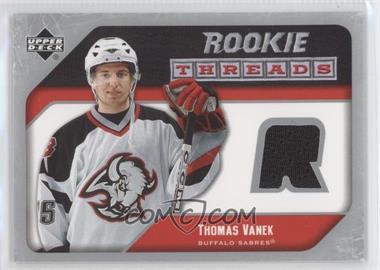 2005-06 Upper Deck Rookie Threads #RT-TV - Thomas Vanek