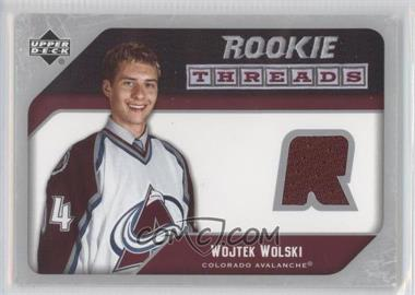 2005-06 Upper Deck Rookie Threads #RT-WW - Wojtek Wolski