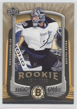 2005-06 Upper Deck Rookie Update - [Base] #109 - Brian Eklund /1999