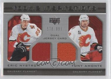 2005-06 Upper Deck Rookie Update - [Base] #200 - Eric Nystrom, Tony Amonte /999