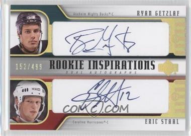 2005-06 Upper Deck Rookie Update - [Base] #256 - Ryan Getzlaf, Eric Staal /499