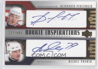 2005-06 Upper Deck Rookie Update #268 - Alexander Perezhogin, Alexei Yashin /499