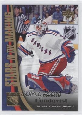 2005-06 Upper Deck Stars in the Making #SM6 - Henrik Lundqvist