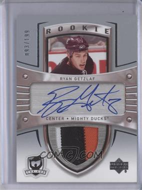 2005-06 Upper Deck The Cup #101 - Auto Rookie Patch - Ryan Getzlaf /199