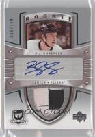 Auto Rookie Patch - R.J. Umberger /199