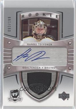2005-06 Upper Deck The Cup #108 - Hannu Toivonen /199