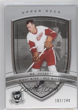 2005-06 Upper Deck The Cup #39 - Gordie Howe /249