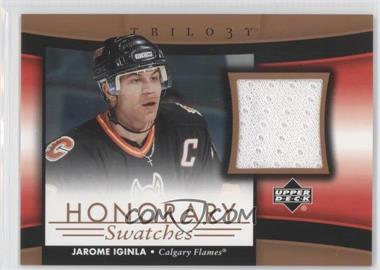 2005-06 Upper Deck Trilogy Honorary Swatches #HS-JI - Jarome Iginla
