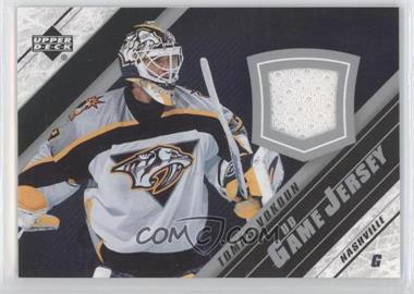 2005-06 Upper Deck UD Game Jersey Series 2 #J2-TV - Tomas Vokoun