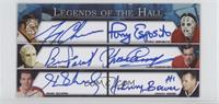 Gerry Cheevers, Tony Esposito, Bernie Parent, Yvan Cournoyer, Henri Richard, Jo…
