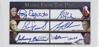 Tony Esposito, Grant Fuhr, Bernie Parent, Gerry Cheevers, Johnny Bower, Glenn H…