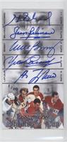 Henri Richard, Jean Beliveau, Mike Bossy, Yvan Cournoyer, Guy Lafleur (Stanley'…