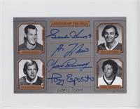 Guillaume Latendresse, Tony Esposito, Gordie Howe, Yvan Cournoyer /25