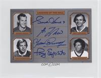 Gordie Howe, Guy Lafleur, Yvan Cournoyer, Tony Esposito /9
