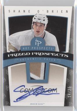 2006-07 Fleer Hot Prospects [???] #102 - Shane O'Brien /25