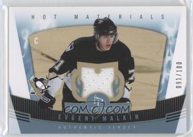 2006-07 Fleer Hot Prospects Hot Materials Red Hot #HM-EM - Evgeni Malkin /100