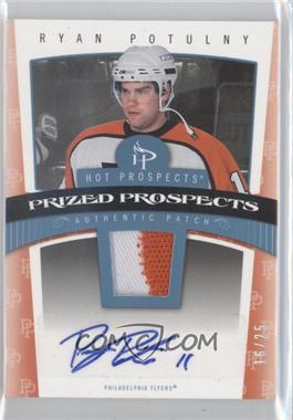 2006-07 Fleer Hot Prospects Red Hot #125 - Ryan Potulny /25