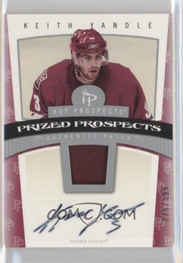 2006-07 Fleer Hot Prospects #127 - Keith Yandle /599