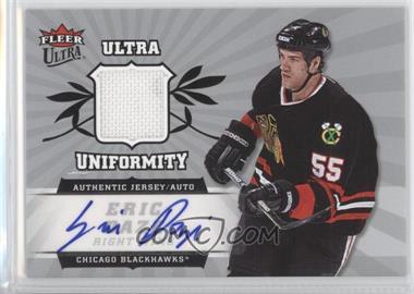 2006-07 Fleer Ultra Uniformity Autograph [Autographed] #UA-ED - Eric Daze /35