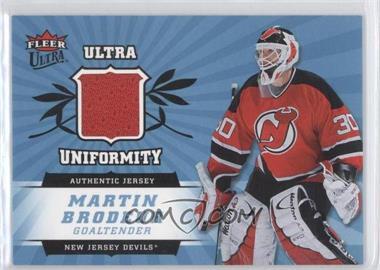 2006-07 Fleer Ultra Uniformity #U-BR - Martin Brodeur