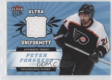2006-07 Fleer Ultra Uniformity #U-PF - Peter Forsberg