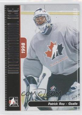 2006-07 In the Game Heroes and Prospects International Ice #128 - Patrick Roy