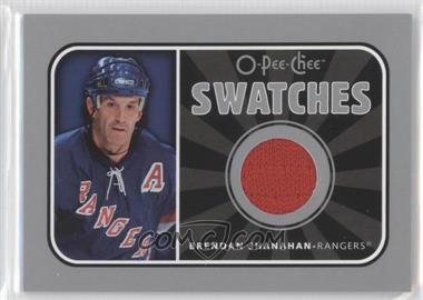 2006-07 O-Pee-Chee Swatches #S-SH - Brendan Shanahan