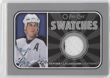 2006-07 O-Pee-Chee Swatches #S-VL - Vincent Lecavalier