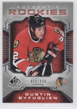 2006-07 SP Game Used Edition [???] #110 - Dustin Byfuglien /999