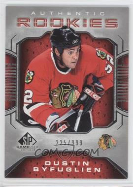 2006-07 SP Game Used Edition #110 - Dustin Byfuglien /999