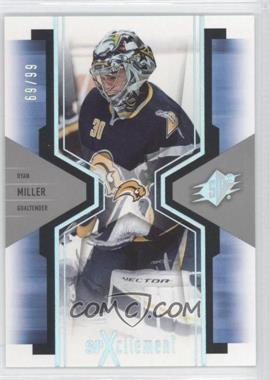 2006-07 SPx SPXcitement Spectrum #X12 - Ryan Miller /99